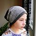 Slouchy pompom hat pattern