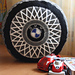 Pillow «Tire cover» pattern