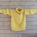 Vårfingenser // Sun Spring Sweater pattern
