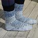 Splash Wave Summer Socks pattern