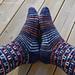 Sokker med utsikt pattern