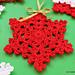 Snowflake Easy Crochet Tutorial pattern