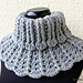 Neck Warmer for Women and Girls pattern