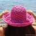 Shell Stitch Summer Hat pattern