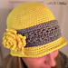 Cloche chemo hat pattern