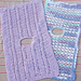 Two Infant Car Seat Blankets pattern