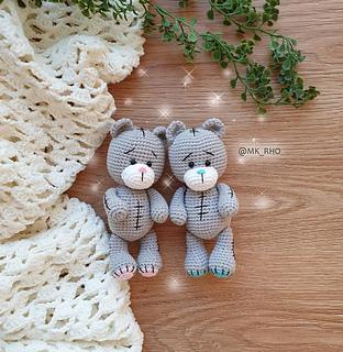 Amigurumi Mini Teddy Bear Free Crochet Pattern | 320x312