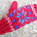 Children's Norwegian Mittens No. 638 pattern