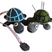 Turtle tape measure and pincushion in one pattern