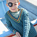 #52 Boy's Cabled Sweater pattern