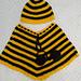 Bee Beanie & Poncho pattern