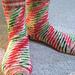 Short Row Shuffle Socks pattern