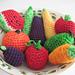 Fruit Set pattern