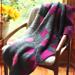 Mod Squares Blanket pattern