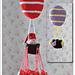 91172 Julkalender/Luftballong pattern