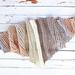 Desert Winds Triangle Scarf pattern