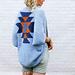 Navajo Blanket Shrug pattern