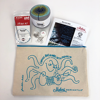 Read the pattern notes to find out how to get one of the 200 kits featuring this adorable project bag!