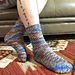 Ringlet Socks pattern