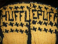 Hufflepuff sock