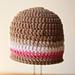 Seamless Double Crochet Hat - (all sizes) pattern
