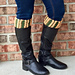 Braided Hearts Boot Cuffs pattern
