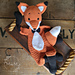 Melly Teddy Ragdoll Mr Fox pattern