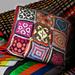 Kissen aus Wollresten pattern