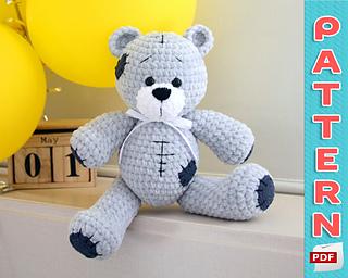Ravelry: Amigurumi Bear Maya pattern by Tiny Mini Design | Crochet ... | 256x320
