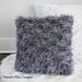 Shag Throw Pillow pattern