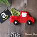 Red Truck Gift Card Holder pattern