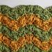 Triplet Ripple Baby Blanket pattern