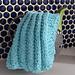 Zipper Rib Stitch Dishcloth pattern