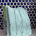 Diagonal Moss Stripe Dishcloth pattern