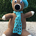 No-Sew Huggable Pal with Beret and Scarf pattern