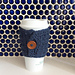 Puff Stitch Coffee Cup Sleeve pattern