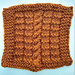 Cable and Ridge Square pattern