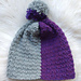Color Block Slouchy Hat pattern