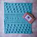 Scrub-a-Doodle-Do Washcloth pattern