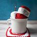 Holiday Mug Rug pattern
