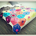 Lotus Flower Throw pattern