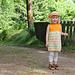 Harlequin in a hurry dress / Huhei harlequinkjole pattern