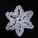 Sand Dollar Snowflake pattern