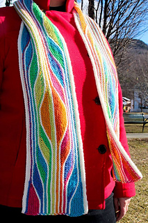 in Stripemania Color by Schachenmayr Regia and O-Wool
