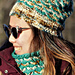 Chain Link Hat & Cowl pattern