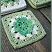 Flower Grannie Square pattern