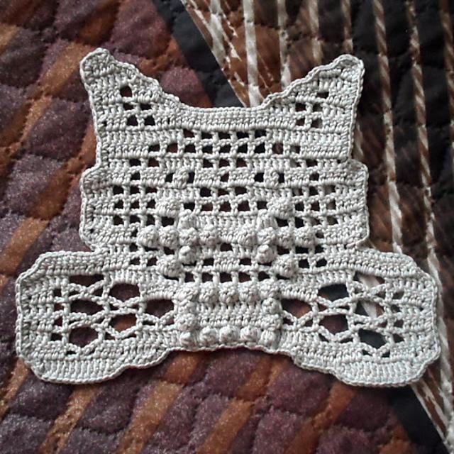 Ravelry: Filet Cat Doily pattern by Julie A Bolduc | 640x640