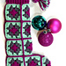 Modern Granny Square Stocking pattern