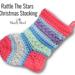 Rattle The Stars Christmas Stocking pattern