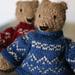 Pattoz, the knitted bear pattern